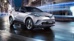 2018 Toyota CHR exterior