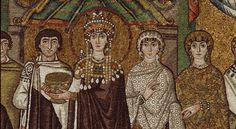 Ravenna: Basilica of San Vitale - Theodora's ladies in waiting