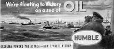 advertisement from Humble Oil (Esso & Exxon later)