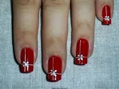 """Find and save images from the """"Moda uñas"""" collection by Melissa Atiencia  (melissa_atiencia) on We Heart It, your everyday app to get lost in what you love. Christmas Nail Designs, Christmas Nail Art, Holiday Nails, Red Nail Art, Red Nails, Hair And Nails, New Years Eve Nails, Magic Nails, Toe Nail Designs"""