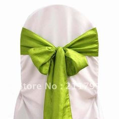 Green Bows for chairs
