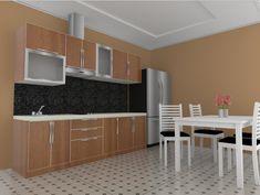 Kami jasa pembuatan mebel lemari kursi meja sofa for Dapur set aluminium