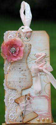 Crinoline Flower...made me think of you @Kim Smith
