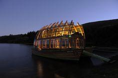 Arca Qulen, a Catamarán designed by Architect Susana Andrea Herrera from CHile