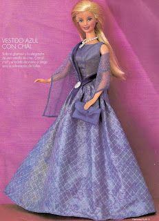 Art and croche: barbie