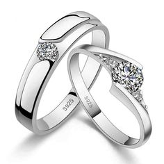 20 Best His And Hers Wedding Rings Images On Pinterest Rings