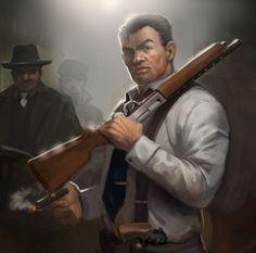 Mafia 2 Artwork   Vito from Mafia II game by kartjeeva ...