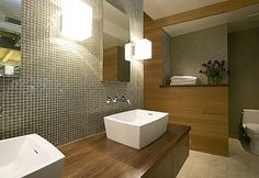 Lighter colour pallete for me Modern bathroom ideas image