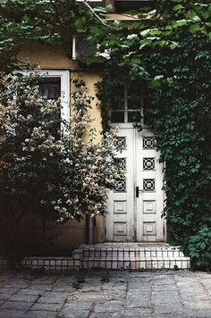 Back Door. Just so that it can remind me of The Secret Garden and I can reminisce in my childhood.