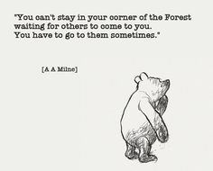 Winnie the Pooh is so wise
