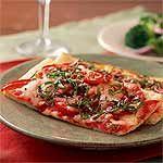 Quick Pizza Margherita Recipe | MyRecipes.com