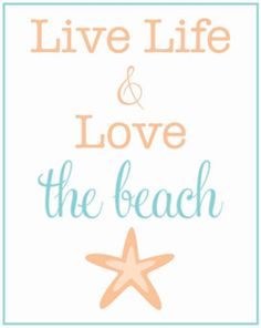 i <3 the beach ~~~