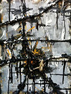 Contemporary abstract art: Tie by Antonio Basso  #art, #abstract art, #contemporary art,