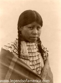 Cheyenne Maiden, 1907 by Legends of America, via Flickr