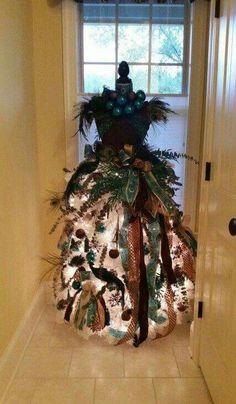 Christmas/ Yule dress tree