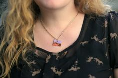 DIY Oregon Necklace