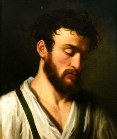 Portrait of a bearded young man - Marie Ellenrieder - The Athenaeum