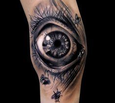 Scream tattoo by Andrea Afferni