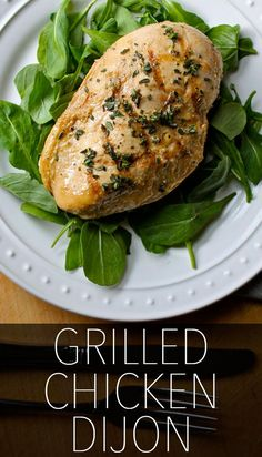 Grill it or broil it, this lean chicken dijon recipe is a fantastic, healthy meal you can make in 15 minutes or less. // lunches // dinners // quick easy recipes // high protein // chicken recipes // nutrition // healthy eating // clean recipes // beachbody | BeachbodyBlog.com