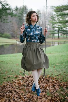 Outfit // Vintage Fusion ( Lilla Rose Review and Giveaway!)