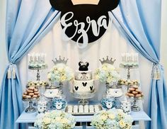 Bizzie Bee Creations 's Birthday / Mickey Mouse - Ezra's Royal Mickey Mouse Party at Catch My Party