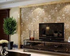 Prepracovaná hnedá tapeta s kvetinovým vzorom Home Decor, Decoration Home, Room Decor, Home Interior Design, Home Decoration, Interior Design