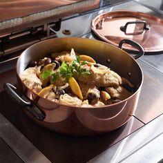 A lifetime Cookware in Copper and Stainless Steel