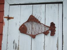 Wall Fish Paverpol Sculpture
