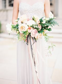 Photography: Kayla Barker Fine Art Photography - www.kaylabarker.com  Read More: http://www.stylemepretty.com/2015/01/22/romantic-pastel-copper-inspiration-shoot/