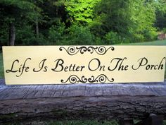 Porch Decorations Porch Decorating ideas Front by ImaginarySigns, $43.00