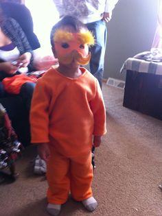 The Lorax Halloween costume