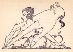 Harry Clarke for a 1925 edition of Goethes Faust. Jenny Lens: Whatta great illustrator! Love him!