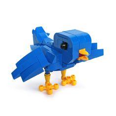 LEGO Twitter bird