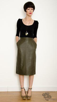 Vintage 80´s Midi Culotte Size L | Vintage Skirts | Pinterest ...