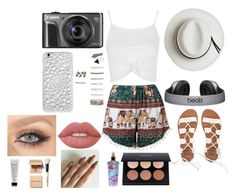 """outfit"" by mohamedhunny on Polyvore featuring Billabong, Topshop, Calypso Private Label, Felony Case, Forever 21, Lime Crime, Victoria's Secret and Bobbi Brown Cosmetics"