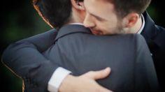 Groom meets groom.