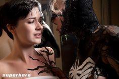 Liquid Latex Venom Shoot #2 - Superhero Photography by Adam Jay