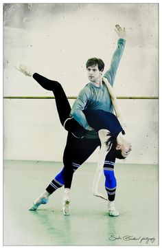 "Victoria Tereshkina and Vladimir Shklyarov, ""The Legend of Love"", Mariinsky Ballet (rehearsal)"