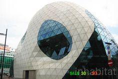 Futuristic Architecture, The Blob, Modern Architecture, Massimiliano Fuksas, Eindhoven