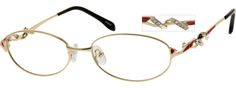 Women's Gold 4654 Metal Alloy Full-Rim Frame | Zenni Optical Glasses-Ua4rVxdW