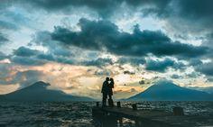 James & Taylar   #engagementphoto #sunset #lakeatitlan #guatemala #wedinguatemala #love #lovethem #sunsetdreams