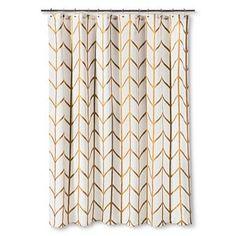 Shower Curtain Gold Ikat - Threshold™