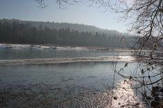 Mythisch und bedächtig fließt die #Isar im Winter dahin...