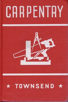 Antique Vintage Forties Carpentry Book by by chemindesmuguets, $12.00