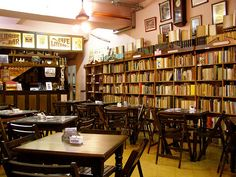 books & cafes...classic