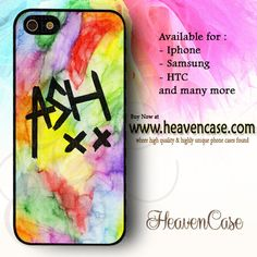 5sos Ashton Irwin Signature on Watercolor available For Iphone 4/4s/5/5s/5c case , Samsung Galaxy S3/S4/S5/S3 mini/S4 Mini/Note 2/Note 3 case , HTC One X , HTC One M7 case , HTC One M8 case and many more , check our website www.heavencase.com