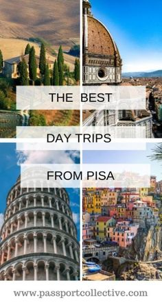 Staying in Pisa but want to explore the Cinque Terre and Tuscany. Don't worry, you can! We've got you covered with great day trips from this beautiful city. Weekend Breaks Europe, Weekend City Breaks, Sorrento Italy, Sicily Italy, Naples Italy, Venice Italy, Toscana Italy, Tuscany, Italy Travel