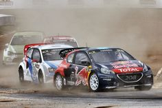 In a bid to promote electric cars, the idea of an electric rallycross series to run at the same meetings as Formula E is being examined An. Small Electric Cars, Vw Group, Big Crowd, Volkswagen Group, Formula E, Car Manufacturers, Peugeot, Two By Two, Product Launch