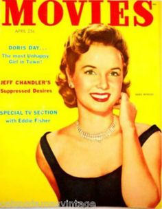 Vintage Movies Magazine April /1954 Debbie Reynolds