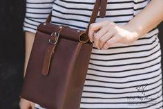 Bolso de cuero Cruz bolsa de plástico bolso de por withmyplea8ure